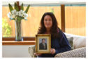 Picture of Julie MacDougall, whose father John, a former MP for Glenrothes, died of mesothelioma.