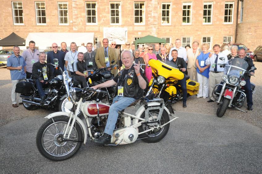 Reception to mark start of the Harley-Davidson festival.