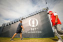First practice day at The Open Championship at Carnoustie.