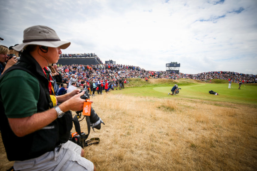 Day Three of the Open