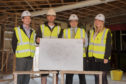 Alastair Fitchet, from AG Fitchet Architects, Aaron Robertson, Grant Hutchinson and Liz Webster.