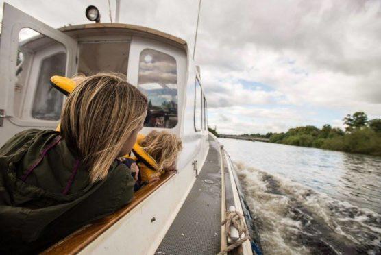Take a boat trip down the River Tay!