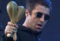 Liam Gallagher performs on the main stage during the TRNSMT festival.