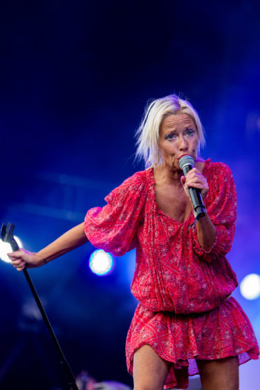 Wendy James performs at Rewind Festival 2018