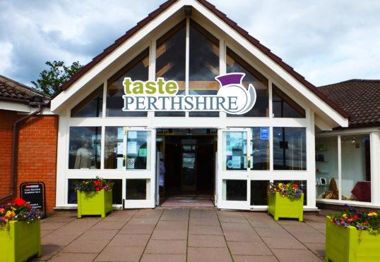 Taste Perthshire, Bankfoot.