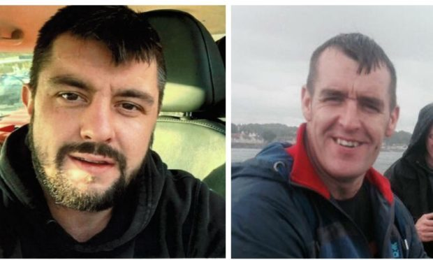 Brothers Martin (left) and Jason Buchan (right).