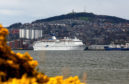 Cruise ship Magellan docked in Dundee in April 2016