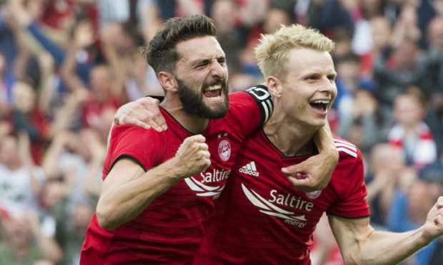 Aberdeen acquitted themselves well against Burnley in the latest Battle of Britain.