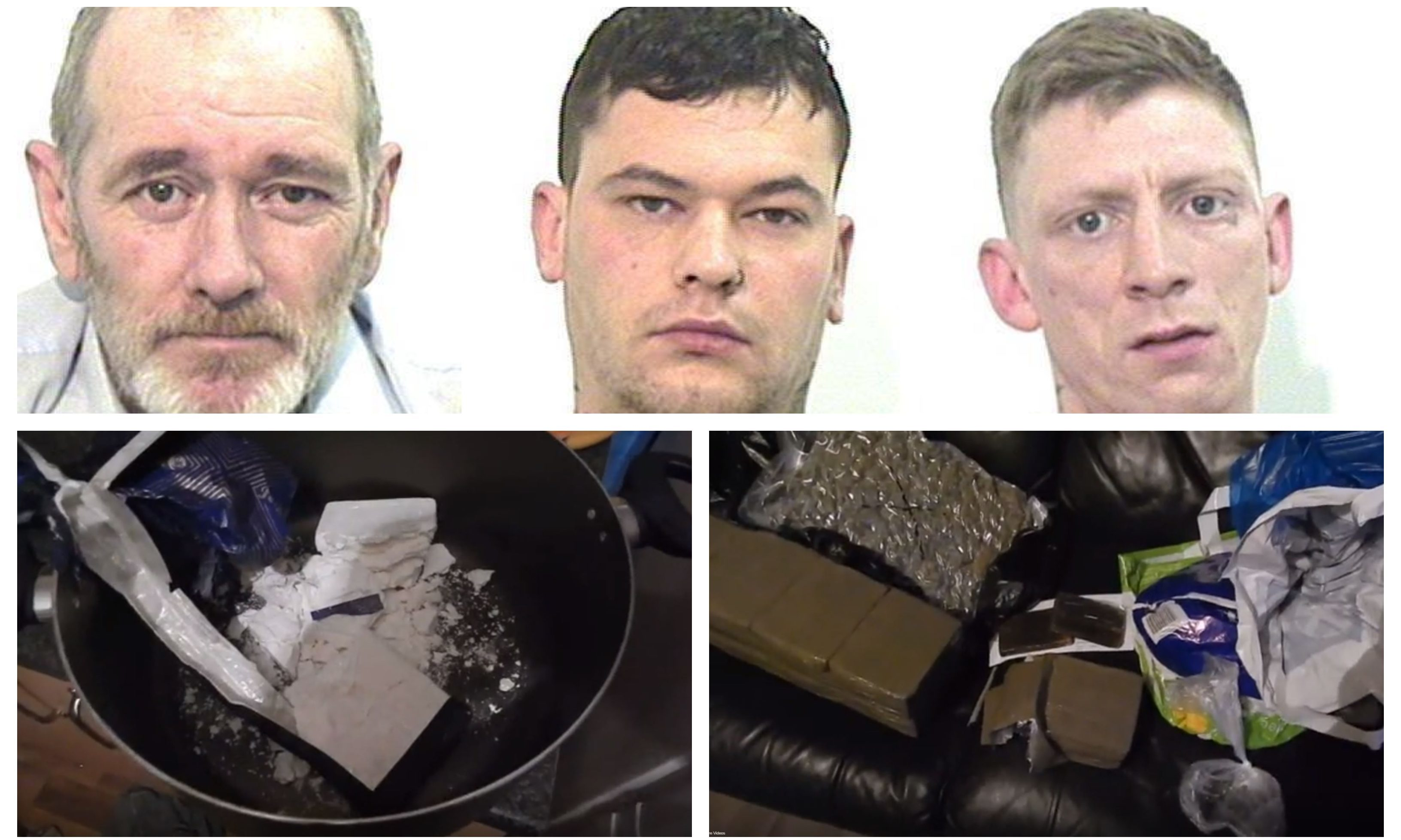 VIDEO: Dundee drug dealers caught with more than £470,000 of