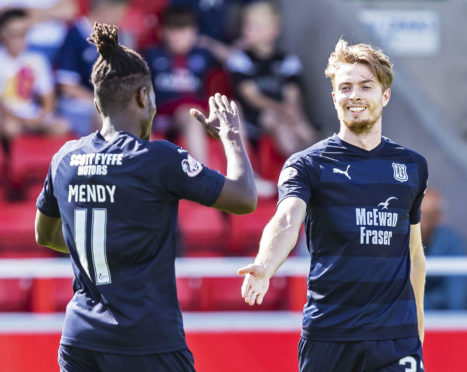 There were plenty of Dundee goals to celebrate last weekend.