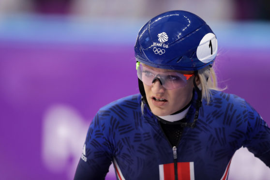Elise Christie's sport saw its funding stopped.