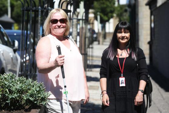 NESS Volunteer Nicky Milne and Volunteer Co-ordinator Joan Kennedy