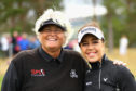 Laura Davies and Georgia Hall combined for handsome opening day win for Great Britain at Gleneagles.