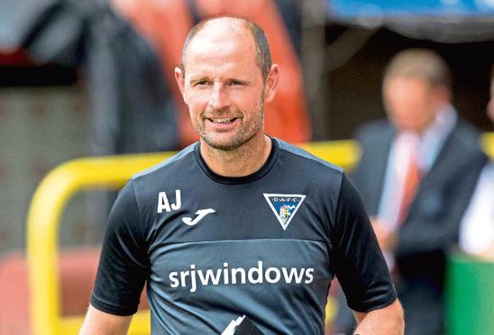 Manager Allan Johnston.