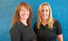 Lynne Falconer and Sally Kiddie of Heal