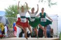 Dancers at Crieff Highland Games.