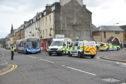 The scene of the accident.  Picture: Stuart Cowper.