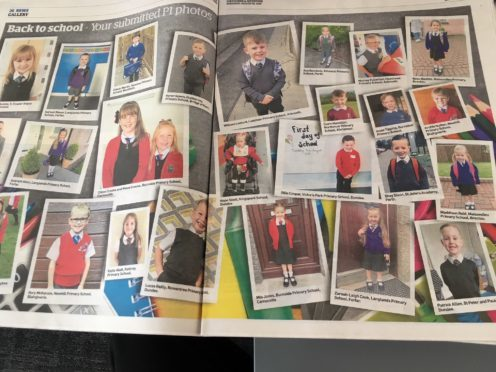 Dozens of your pics are being included in The Courier.