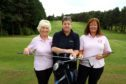 "Elaine Heron, Elaine Hendry & Jane Menzies  of ""Golf Dundee Ladies""."
