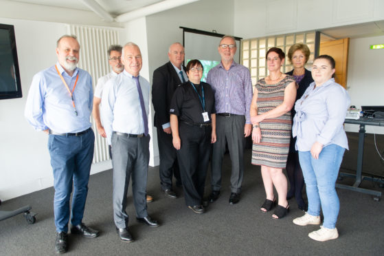 Members of the Dundee Drug Commission at the latest meeting on August 22