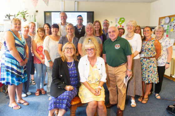 Professor Dawn Brooker and Dr Shirley Evans recently visited Kirrie Connections.