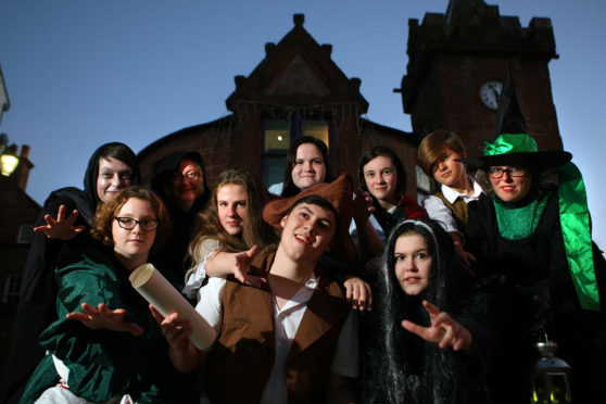 The award-winning Kirriemuir Gateway to the Glens museum has provided the backdrop for events including spooky tours of the town