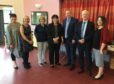 Councillor Julie Bell, Jillian Richmond, Lorraine Young, Jeanne Freeman, George Bowie, Carol Brunton