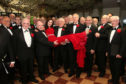Arbroath Male Voice Choir with Irish classical singer Margaret Keys.