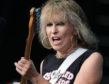Chrissie Hynde of The Pretenders.