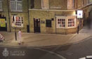CCTV footage of Corrie's last known movements.