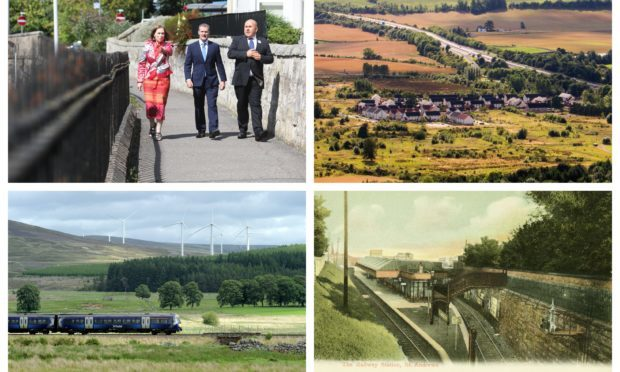 The Scottish Government transport appraisals take in St Andrews, Newburgh and Oudenarde.