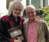 Brian May and Professor Roger Taylor
