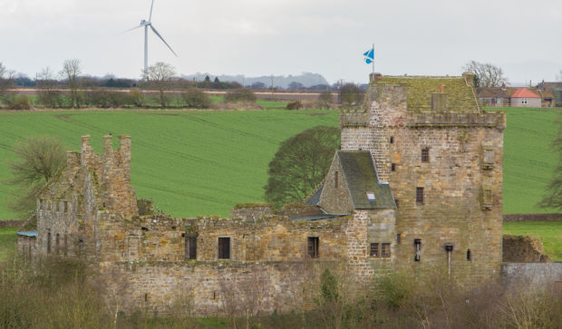 Balgonie Castle, Coaltown of Balgonie, Fife