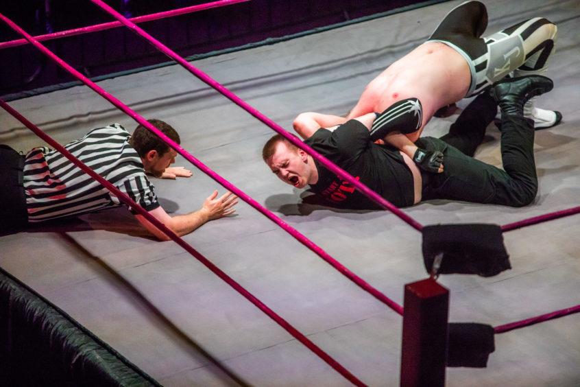 Riot during match against KJ Nitro.