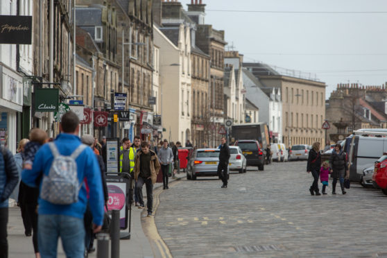 Market Street is bustling - but startling new figures suggest many of houses in the town centre are lying empty.