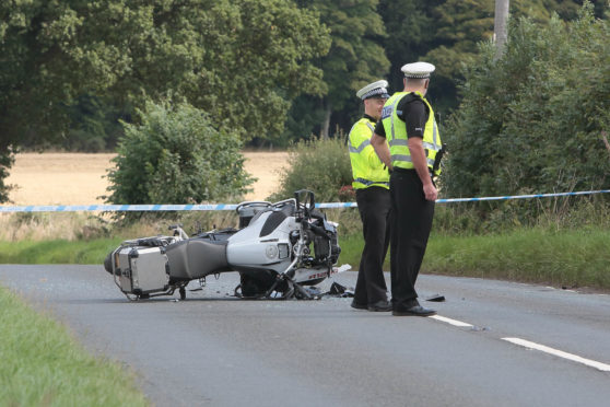 A9 closed for hours after bikers injured in two Perthshire crashes