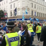 Thousands march in Dundee in support of Scottish independence