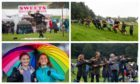 Pictures from Perth Highland Games and Cortachy Highland Games.