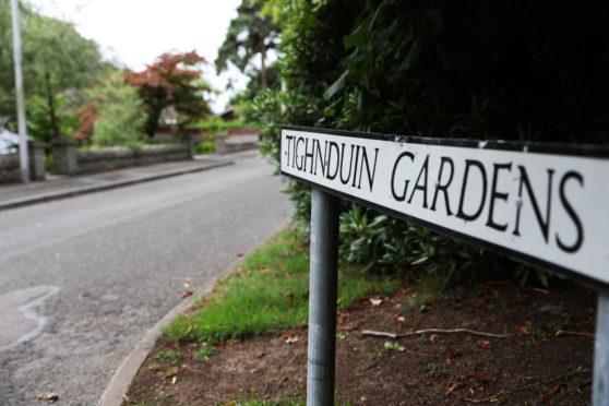 Tighnduin Gardens in Monifieth. Picture: Mhairi Edwards