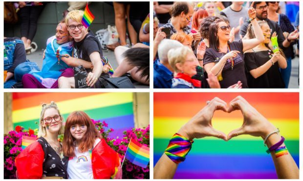The first ever Perthshire Pride in August, 2019