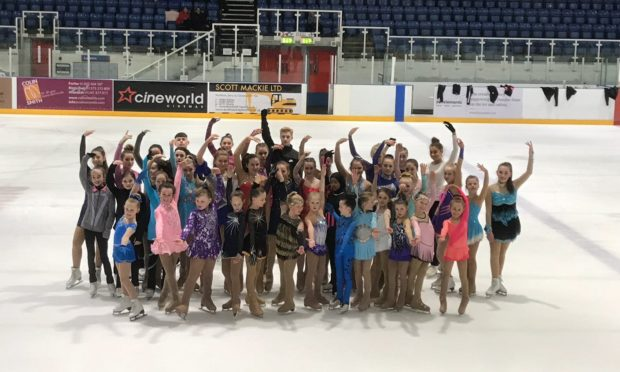 Some happy skaters looking forward to the Dundee Open.