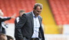 Dundee Untied manager Csaba Laszlo has left the club.