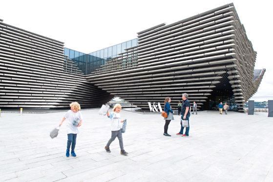 V&A Dundee opens on September 15.