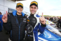 Jonny Adam and Flick Haigh were 2018 British GT champions