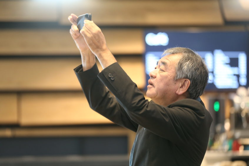 Even architect Kengo Kuma sees new things to photograph.