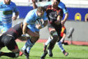 Fraser Brown makes ground against the Kings but Glasgow were humiliated in Port Elizabeth.