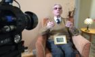 Ernie Holmes, 97, at Kincarrathie House