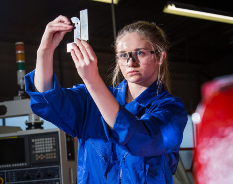 Engineer Emma Scott is one of those to have benefited from Fife's focus on entrepreneurism.