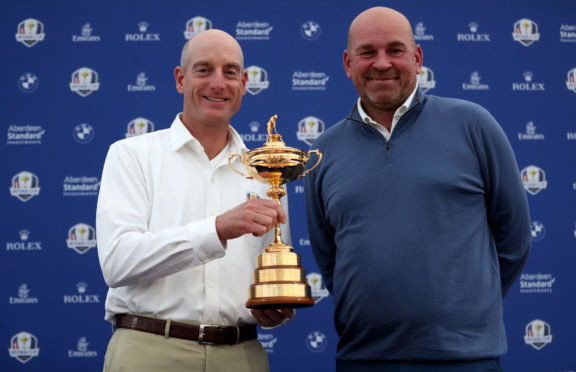 Thomas Bjorn welcomes Jim Furyk and the Ryder Cup to Paris for this week's 42nd edition of the event.