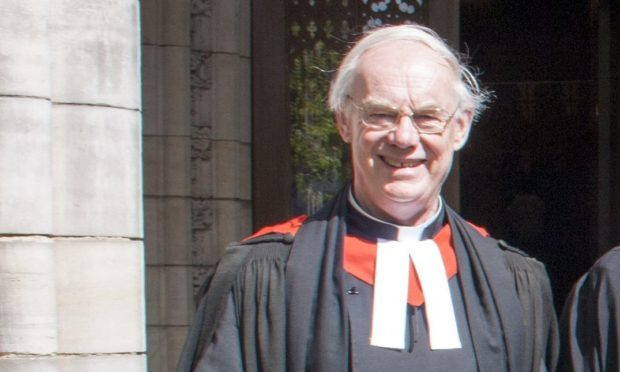 Professor Ian Bradley, pictured at the University of St Andrews.